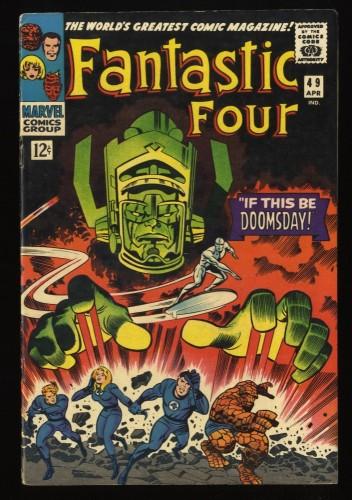 Fantastic Four #49 FN 6.0 2nd Silver Surfer! Marvel Comics