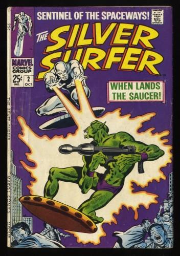 Silver Surfer #2 VG 4.0 1st Badoon Marvel Comics
