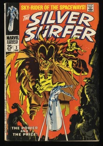 Silver Surfer #3 VG 4.0 1st Mephisto! Marvel Comics