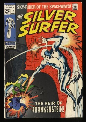 Silver Surfer #7 FN+ 6.5 Marvel Comics