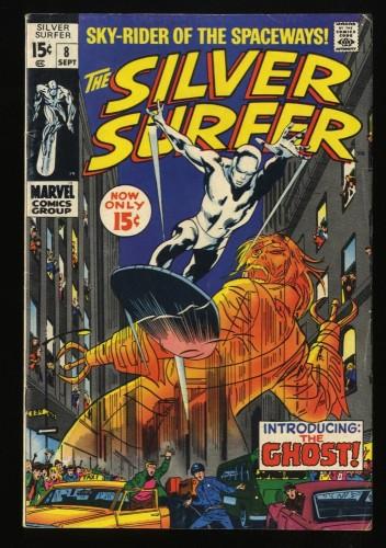Silver Surfer #8 VG+ 4.5 Marvel Comics