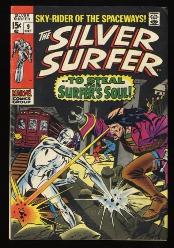 Silver Surfer #9 VG- 3.5 Marvel Comics