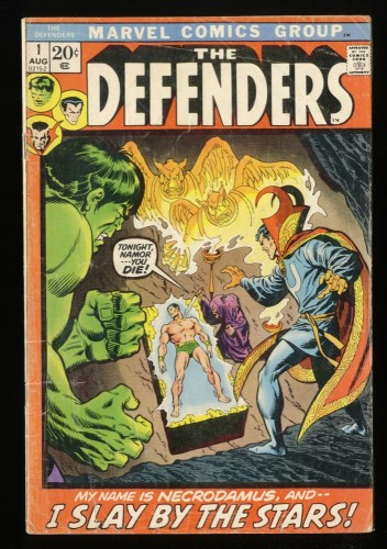 Defenders #1 GD 2.0 Marvel Comics
