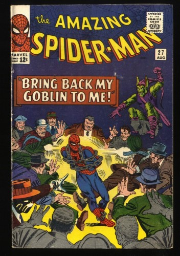 Amazing Spider-Man #27 VG+ 4.5 Green Goblin! Marvel Comics Spiderman