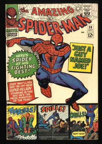 Amazing Spider-Man #38 VG/FN 5.0 Marvel Comics Spiderman