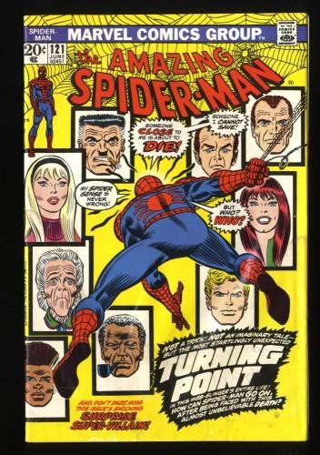 Amazing Spider-Man #121 VG 4.0 Death of Gwen Stacy! Marvel Comics Spiderman