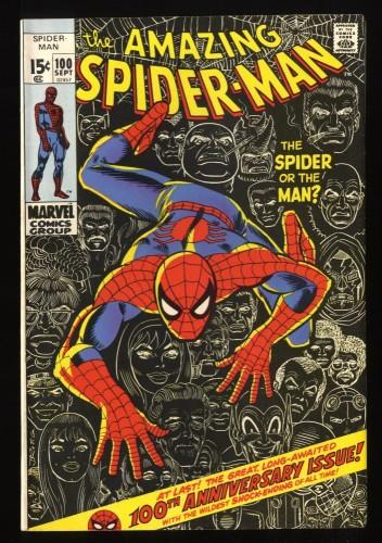 Amazing Spider-Man #100 VF 8.0 Marvel Comics Spiderman