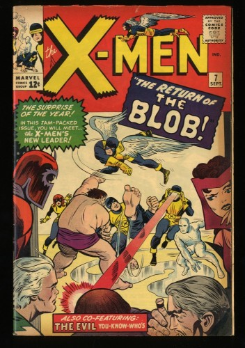 X-Men #7 VG+ 4.5