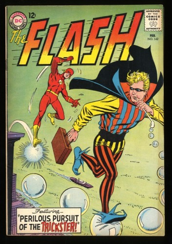 Flash #142 FN 6.0 Trickster! DC Comics