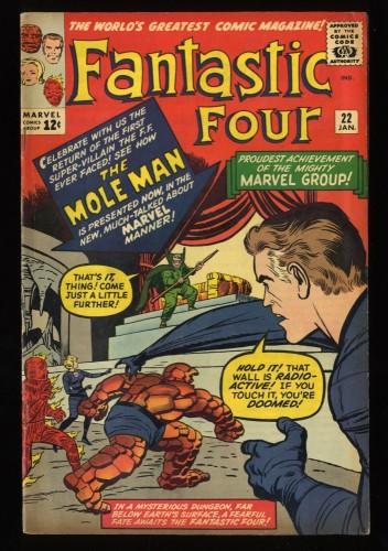 Fantastic Four #22 VG+ 4.5