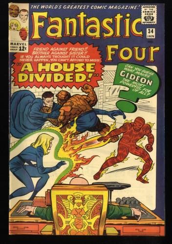 Fantastic Four #34 VG/FN 5.0 Marvel Comics