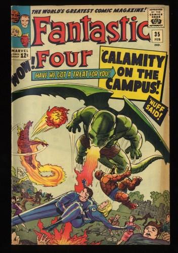 Fantastic Four #35 VG/FN 5.0