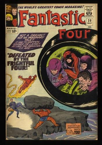 Fantastic Four #38 VG+ 4.5