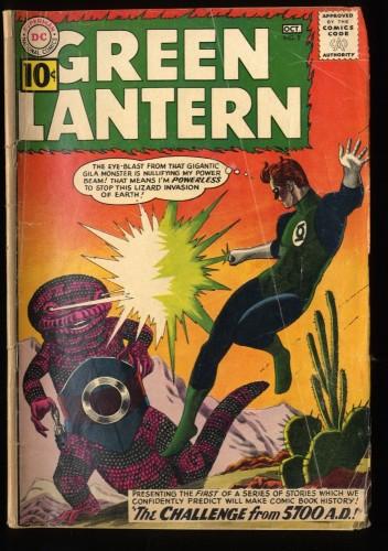 Green Lantern #8 FA/GD 1.5 DC Comics