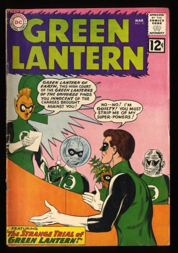 Green Lantern #11 GD+ 2.5