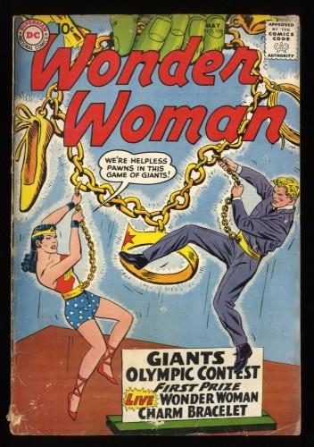 Wonder Woman #106 GD+ 2.5