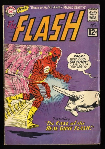 Flash #128 GD/VG 3.0 1st Abra Kadabra! DC Comics
