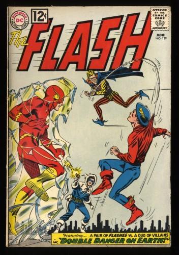 Flash #129 VG/FN 5.0 2nd Golden Age Flash! DC Comics