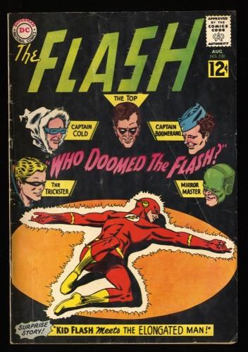 Flash #130 VG- 3.5 1st Gauntlet of Super Villains! DC Comics