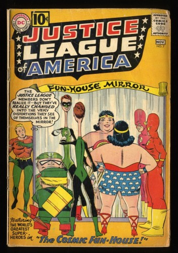 Justice League Of America #7 GD+ 2.5