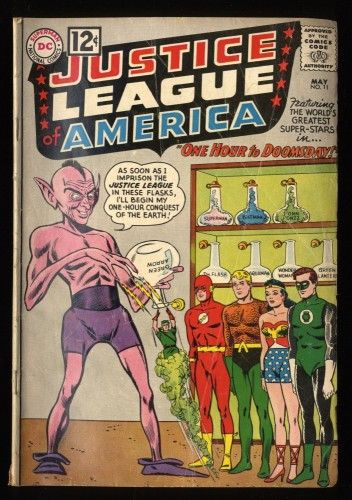 Justice League Of America #11 GD/VG 3.0