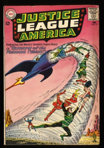 Justice League Of America #17 VG/FN 5.0 DC Comics