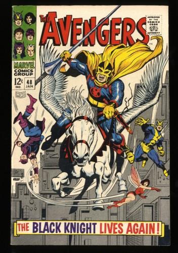 Avengers #48 VF+ 8.5 Marvel Comics Thor Captain America
