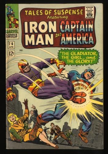 Tales Of Suspense #76 VF+ 8.5 Iron Man