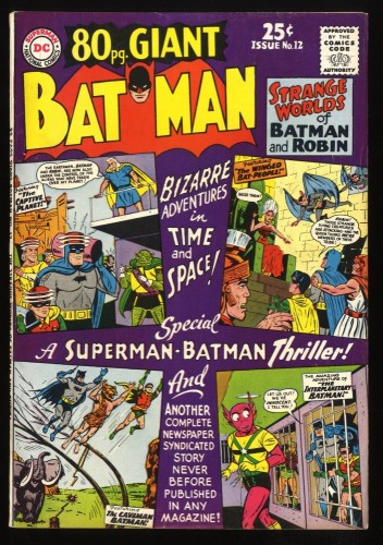 80 Page Giant #12 VF- 7.5 Batman!