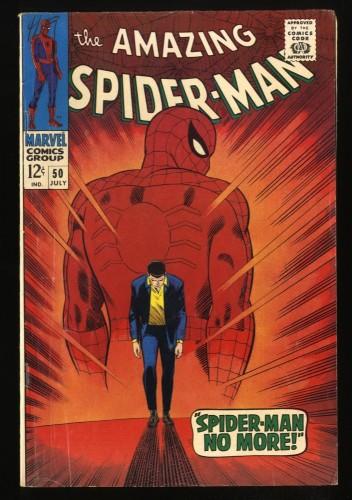 Amazing Spider-Man #50 VG+ 4.5 1st Kingpin! Marvel Comics Spiderman