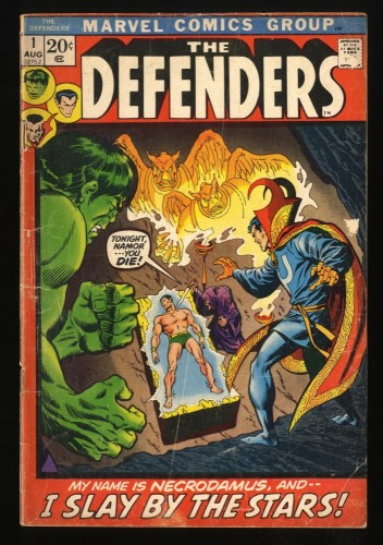 Defenders #1 Fair 1.0 Marvel Comics