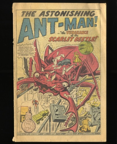 Tales To Astonish #39 Inc 0.3 giant ant man hulk