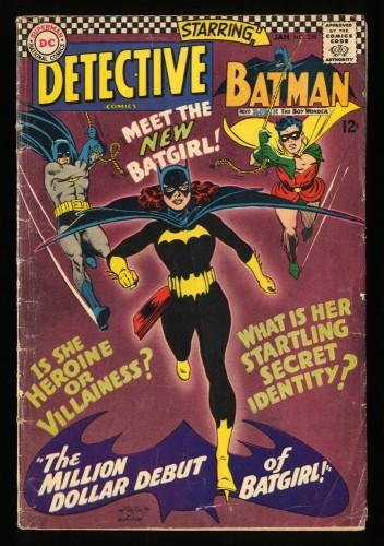Detective Comics #359 VG- 3.5 1st Batgirl!