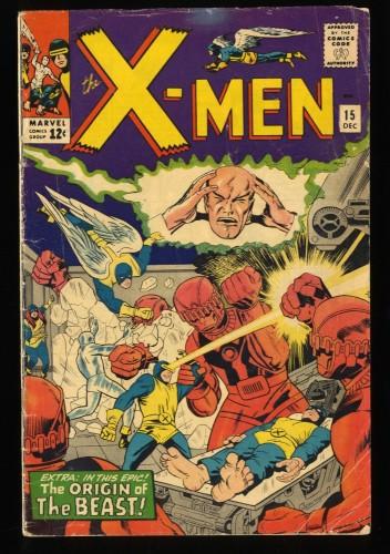 X-Men #15 VG- 3.5