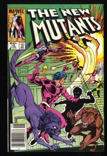 New Mutants #16  1st Warpath!
