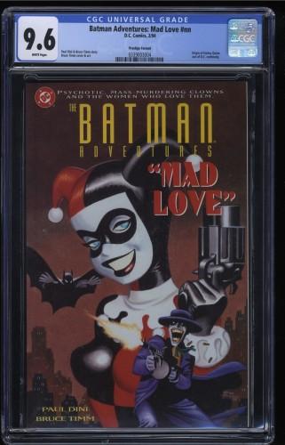 Batman Adventures: Mad Love nn CGC NM+ 9.6 White Pages