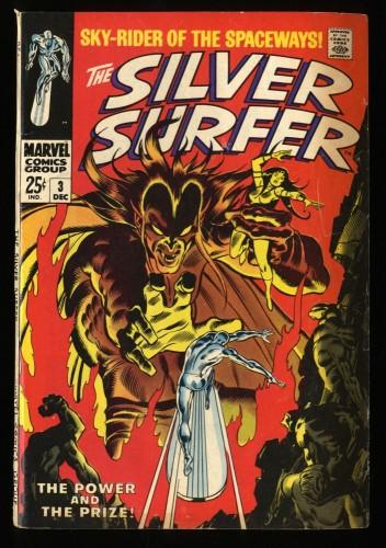 Silver Surfer #3 VG+ 4.5 1st Mephisto! Marvel Comics