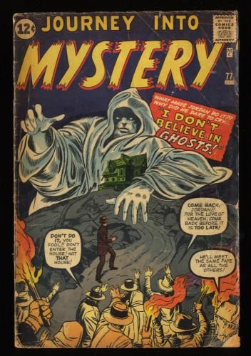 Journey Into Mystery #77 GD 2.0