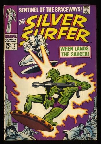 Silver Surfer #2 FN 6.0 1st Badoon Marvel Comics