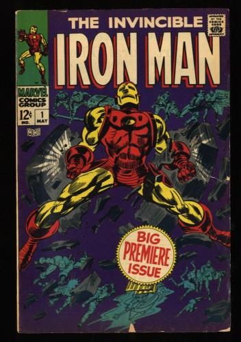Iron Man #1 VG- 3.5 Marvel Comics