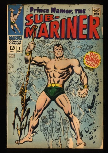 Sub-Mariner #1 GD/VG 3.0 Marvel Comics