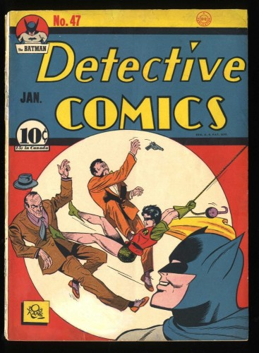 Detective Comics #47 GD/VG 3.0 (Restored) Batman!