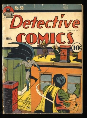 Detective Comics #50 FA/GD 1.5 (Restored) Batman!