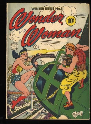 Wonder Woman #11 VG- 3.5 1st Hypnota!