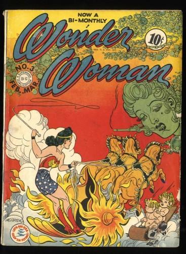 Wonder Woman #3 VG- 3.5 (Restored)