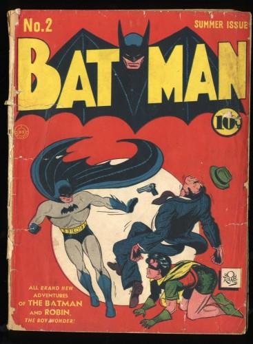 Batman #2 Fair 1.0 2nd appearance of Joker and Catwoman!