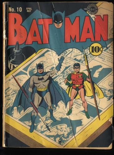 Batman #10 P 0.5