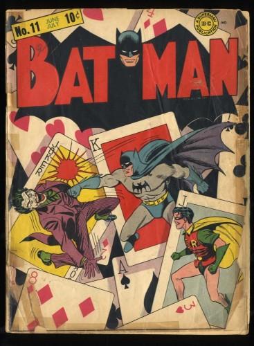 Batman #11 P 0.5 Classic Joker Cover!