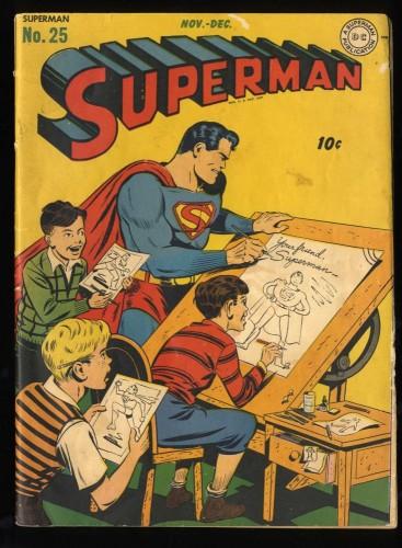 Superman #25 VG+ 4.5