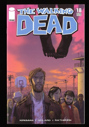 Walking Dead #18 NM+ 9.6